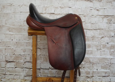 """Black Country Eloquence X Dressage Saddle 17.5"""""""